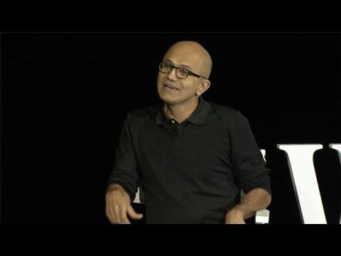Satya Nadella on Microsoft's Identity