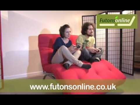 & futons online Barca metal bed sofa futon recliner - YouTube islam-shia.org