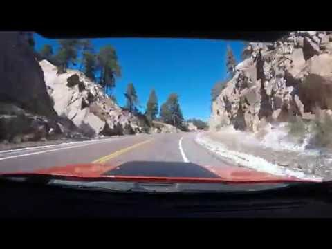 Drive from Tucson to Top of Mt Lemmon