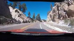Time Lapse Drive from Tucson to Top of Mt Lemmon