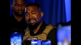 Kanye Cries About Abortion At Totally Bonkers Campaign Rally