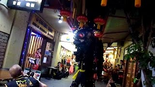 Chinese New Year Eve Lion Dance at Kim Chee House Perth Chinatown by Pak Mei 白眉 Yaolin 2014