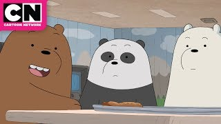 We Bare Bears | Papa Bear's Pizza Cave | Cartoon Network