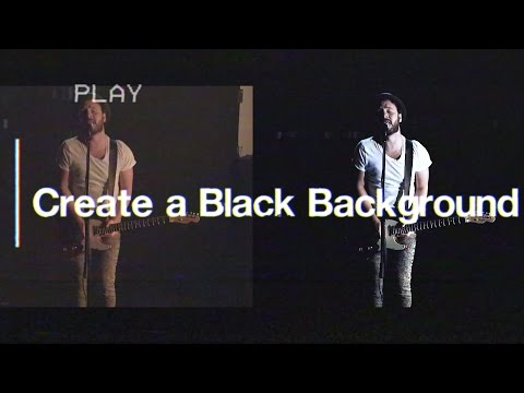 Create An Infinite Black Background - Filmmaking Tips
