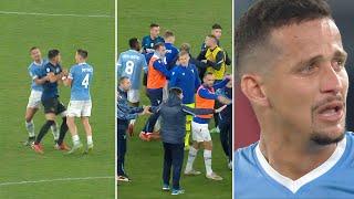 Did Luiz Felipe g๐ too far? Tempers flare as Lazio beat Inter 3-1 in Serie A