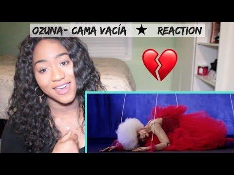 Ozuna - Cama Vacía (Video Oficial)   REACTION