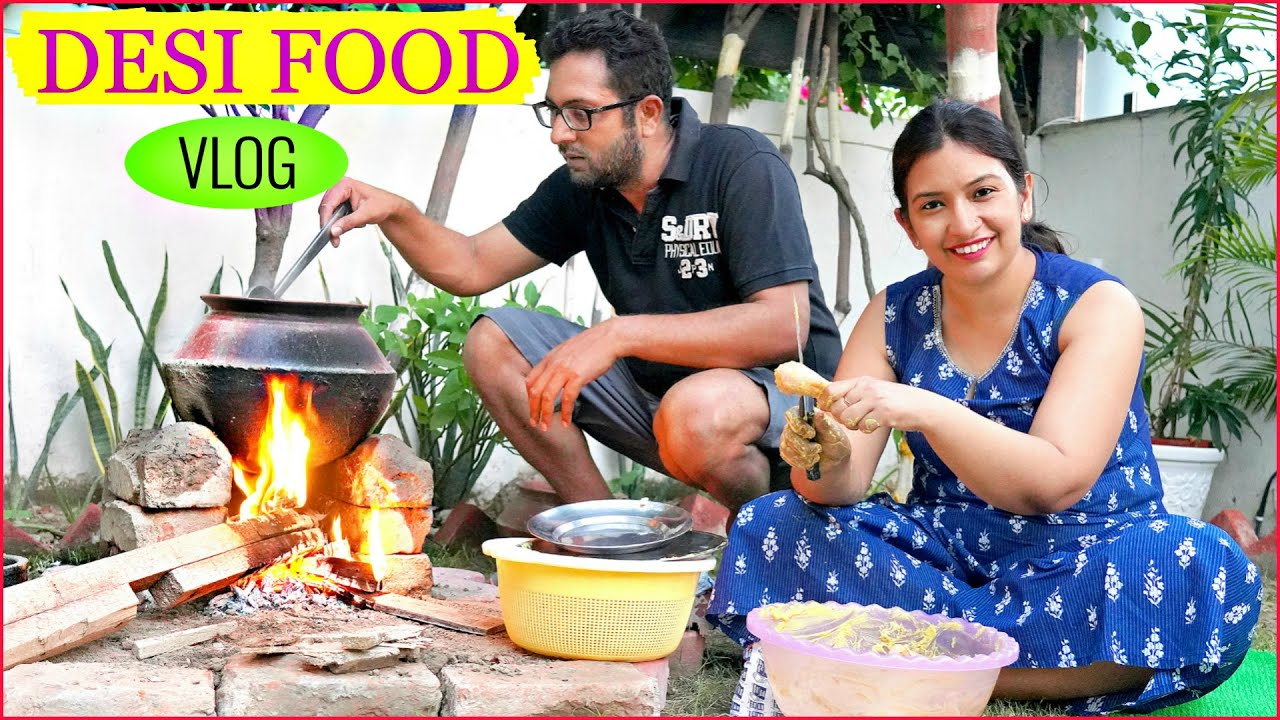 Download DESI Style COOKING During LOCKDOWN | CookWithNisha