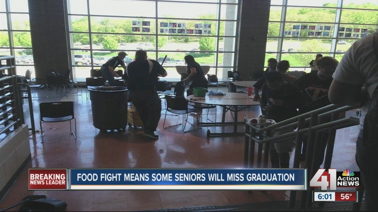 Food fight at Turner High School results in student suspension