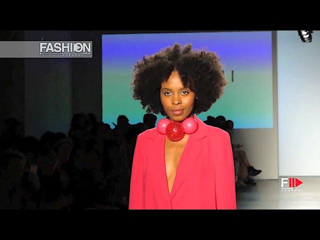 NAZOMI Spring 2019 Global Fashion Collective New York - Fashion Channel