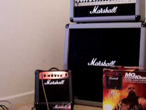 marshall mg10 kk combo practice amp youtube. Black Bedroom Furniture Sets. Home Design Ideas