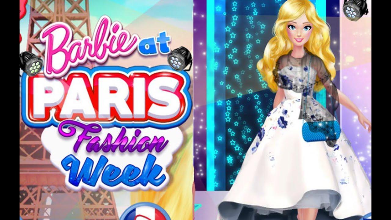 Barbie Doll At Paris Fashion Week Games For Girls
