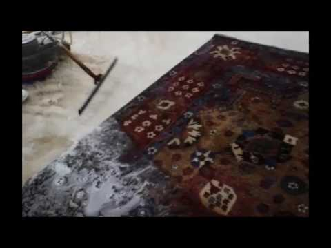 How Do You Clean a Large Antique Oriental Rug in Palm Beach?