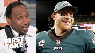 The Eagles will win the NFC East over the Cowboys - Stephen A. | First Take