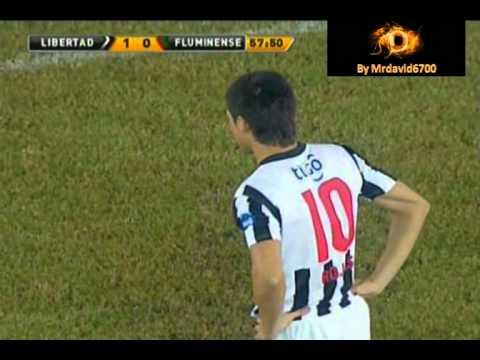 """""""Libertadores 2011"""" Libertad vs Fluminense Gol de Libertad - R.Rojas"""