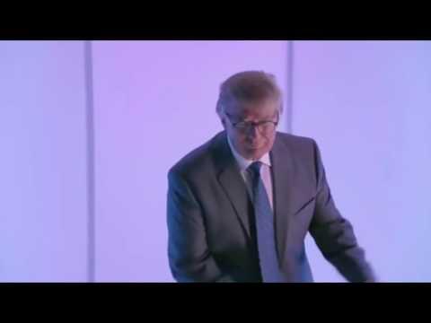 Donald Trump dances to Donald Trump Anthem