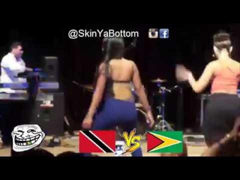 Guyana vs Trinidad dance off
