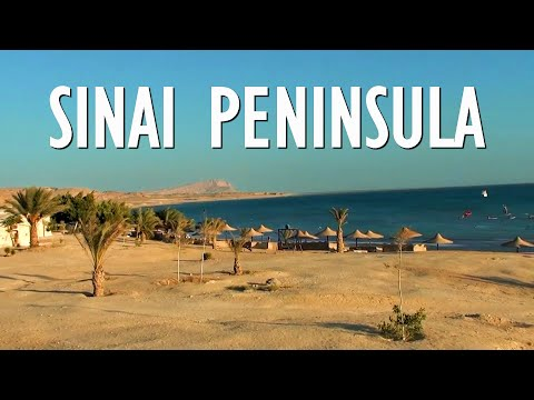 Sinai Peninsula in Egypt - tourist attractions and places to visit