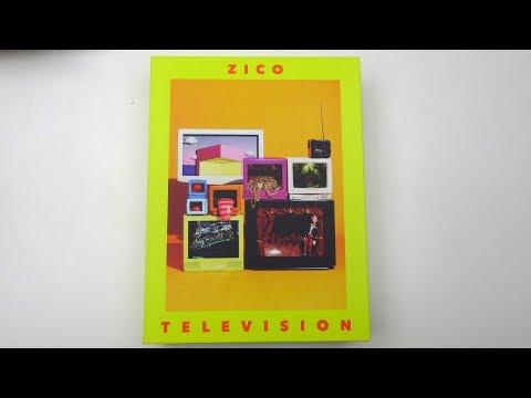 Unboxing Zico 지코 2nd Mini Album Television