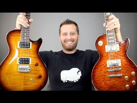 Les Paul vs PRS Singlecut - Guitar Tone Comparison!