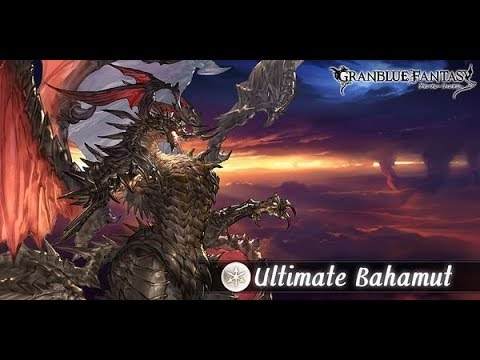 What Was I Thinking (Ultimate Bahamut Normal Mode) Twitch Highlight  Granblue Fantasy