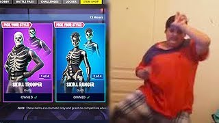 12 Year Olds Upset That Skull Trooper Is Back in Fortnite
