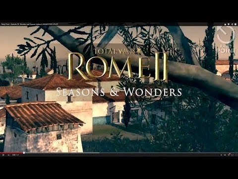 Total War Rome 2 Seasons And Wonders Update