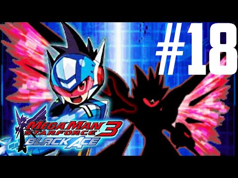 Mega Man Star Force 3: Black Ace Part 18 - Luna Frag Search [HD]