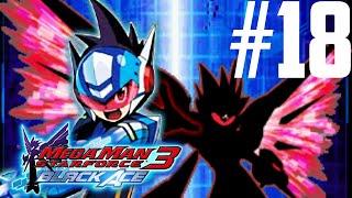Mega Man Star Force 3: Black Ace Part 18 - Luna Frag Search [HD]