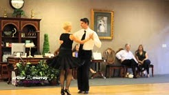 Arthur Murray South Jacksonville Fl dance instructors demonstrate the East Coast Swing