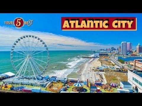 ATLANTIC CITY BOARDWALK Drone Video |