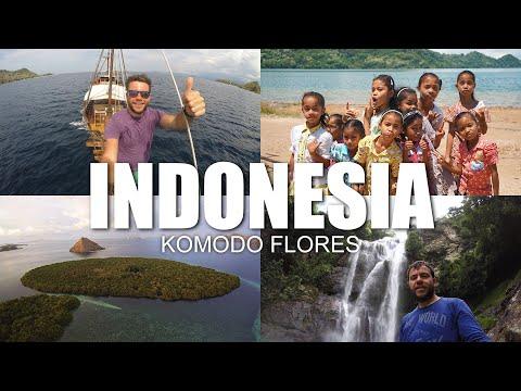 Happy Traveller στην Ινδονησία | Μέρος 3 | Κομόντο/Φλορες