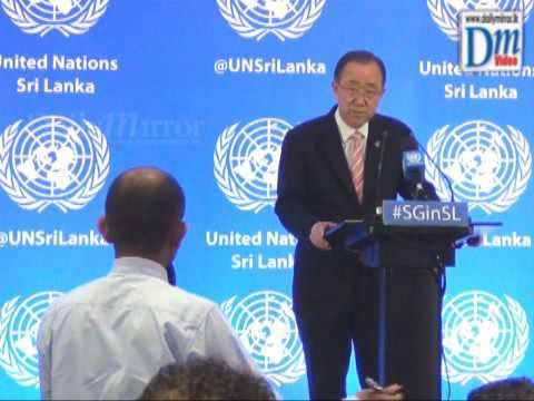 United Nations Secretary General Ban Ki moon Q and A