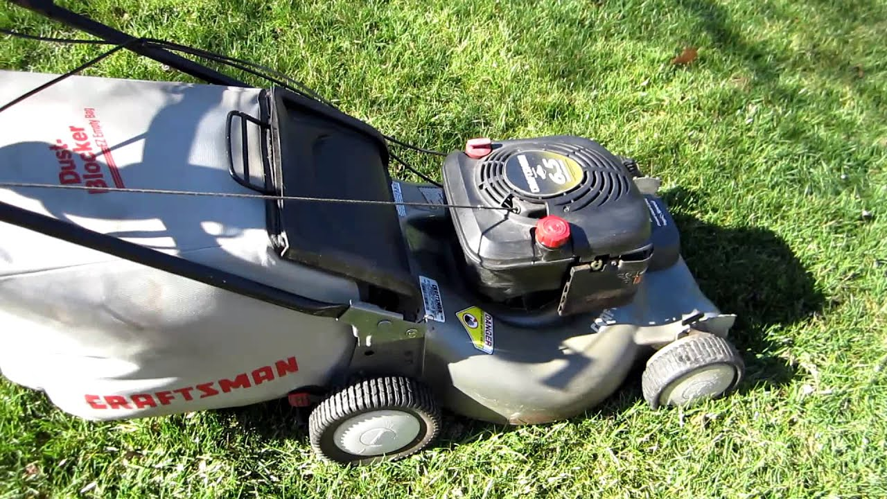 Sears Craftsman Model 917 Mower : Sears craftsman quot lawn mower fixed repair