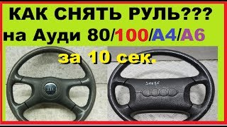 видео Audi A4   Подвеска колес и рулевое управление   Ауди А4
