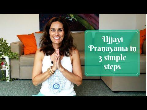 Ujjayi Pranayama in 3 Simple Steps