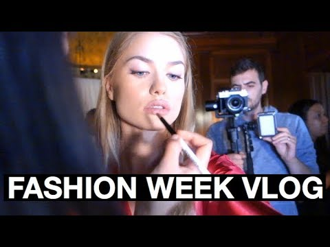 LIFE OF A MODEL: A DAY AT FASHION WEEK
