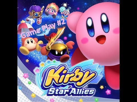 Kirby Star Allies Game Play (World of Miracles Planet Pop Star)