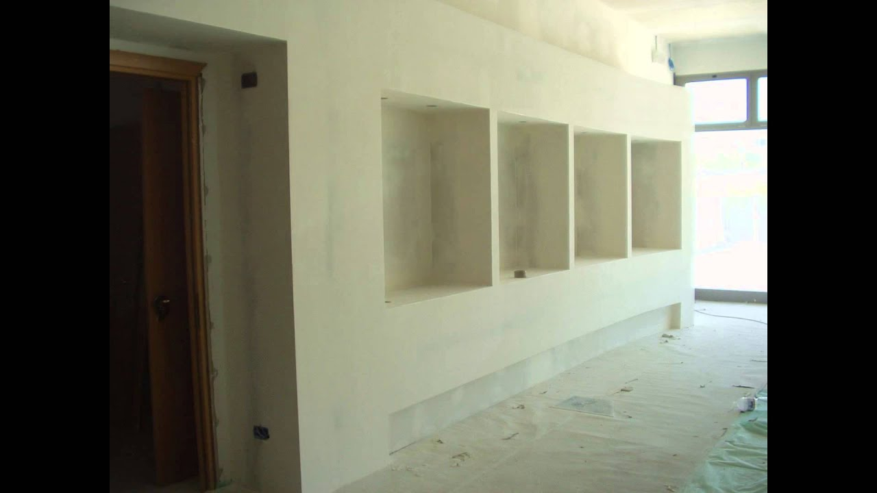 Mobili in Cartongesso - YouTube