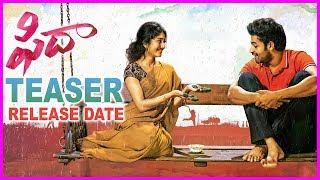 Fidaa Teaser Release Date - Motion Teaser | Varun Tej | Sai Pallavi | Sekhar Kammula | Dil Raju