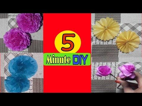 4 Easy Paper  Flower
