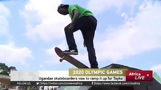 Uganda Skateboarders Setting A Team To Represent In The Olympics