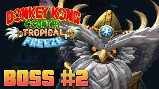 Donkey Kong Country: Tropical Freeze - Boss Fight #2 [HD+]