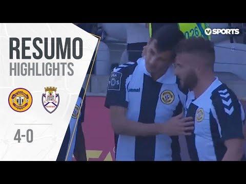Highlights | Resumo: Nacional 4-0 Feirense (Liga 18/19 #22)