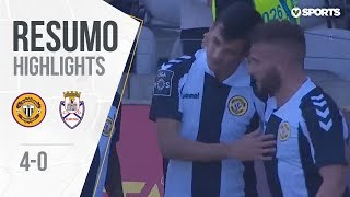 Highlights   Resumo: Nacional 4-0 Feirense (Liga 18/19 #22)