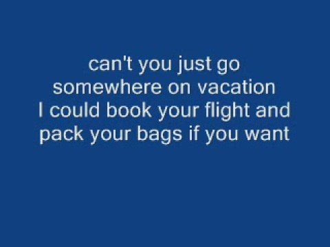 simple plan - vacation lyrics
