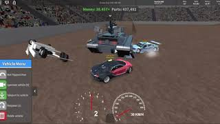 Roblox Car Crushers 2 Derby Gameplay