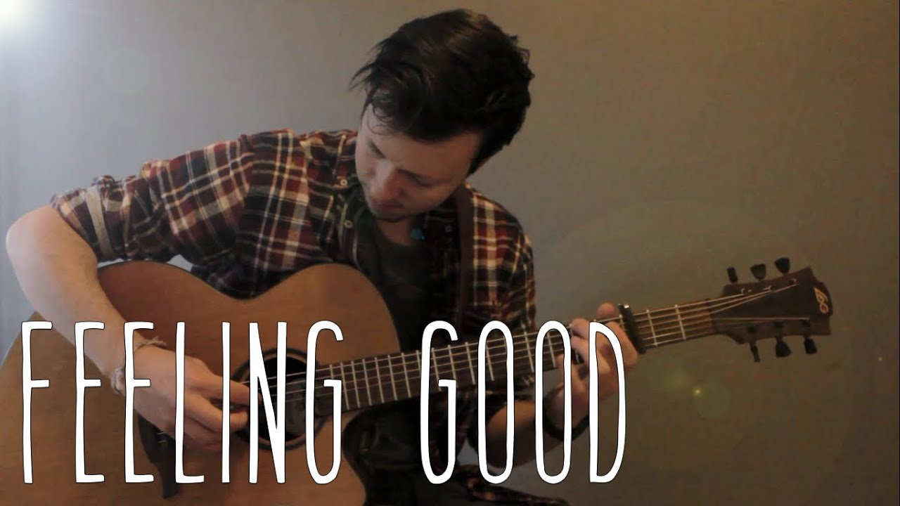 how to play feeling good on guitar