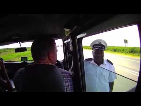 MOCAMBIQUE POLICE OFFICER EXTORTS MONE