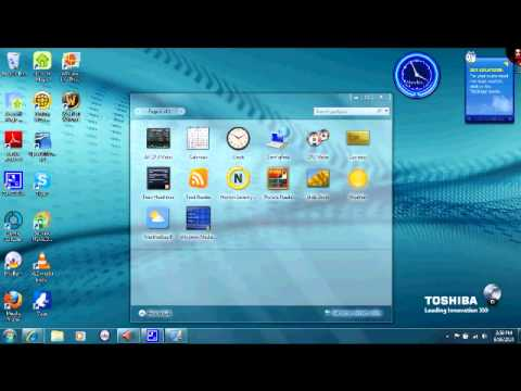 how to add gadgets in windows 7