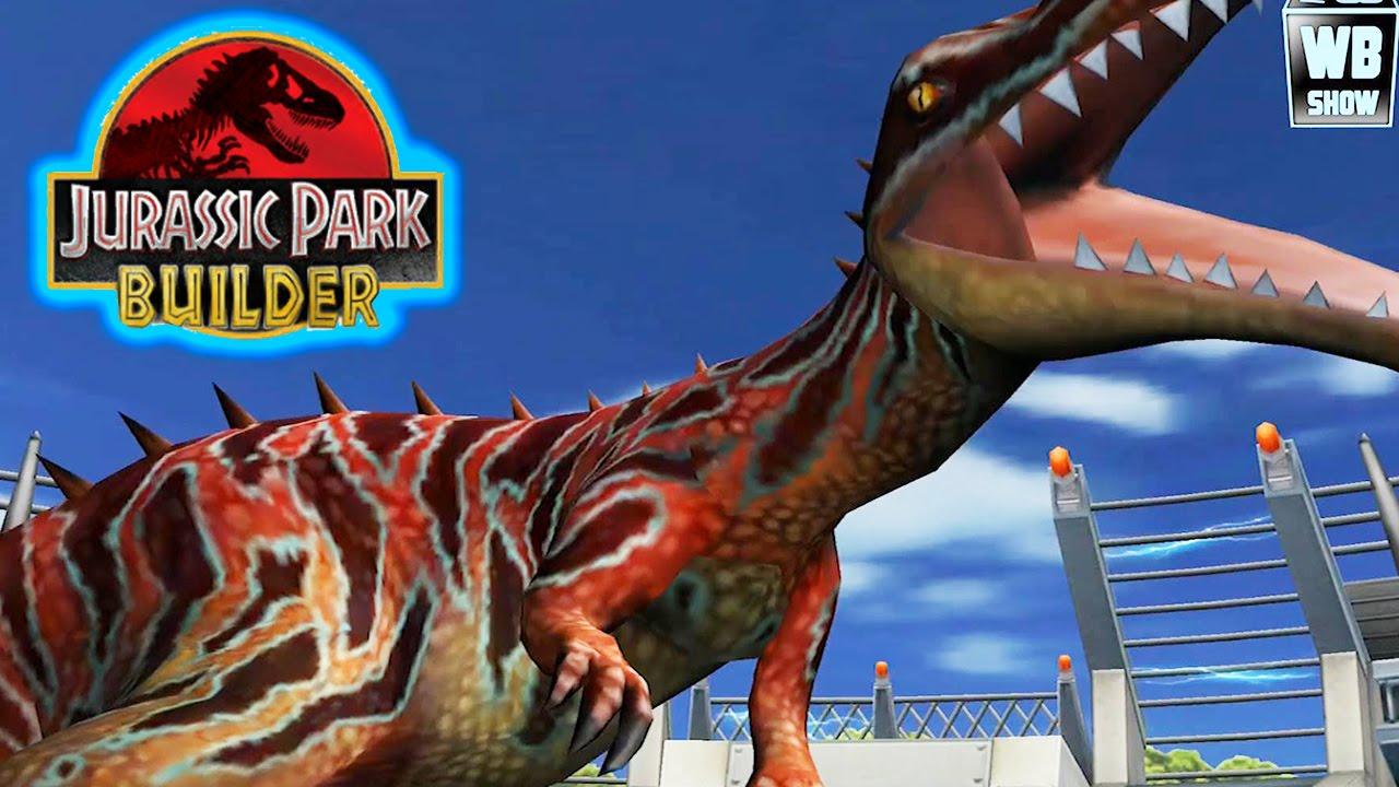 Jurassic Park Builder - Suchomimus Battle [Final Evolution ...